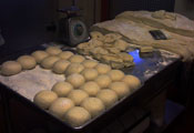 faracis pizza making dough balls