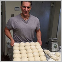 Vince Faraci Preparing Dough Balls